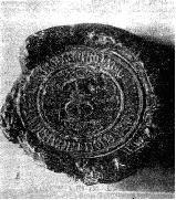 Pecetea de pe uricul de la 5 decembrie 14601