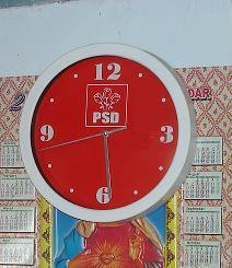 Ceasul fără orar - fabricat de PSD