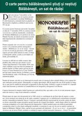 Acces brosura de prezentare monografie